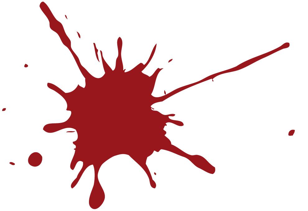 illustrasjon av blodsøl