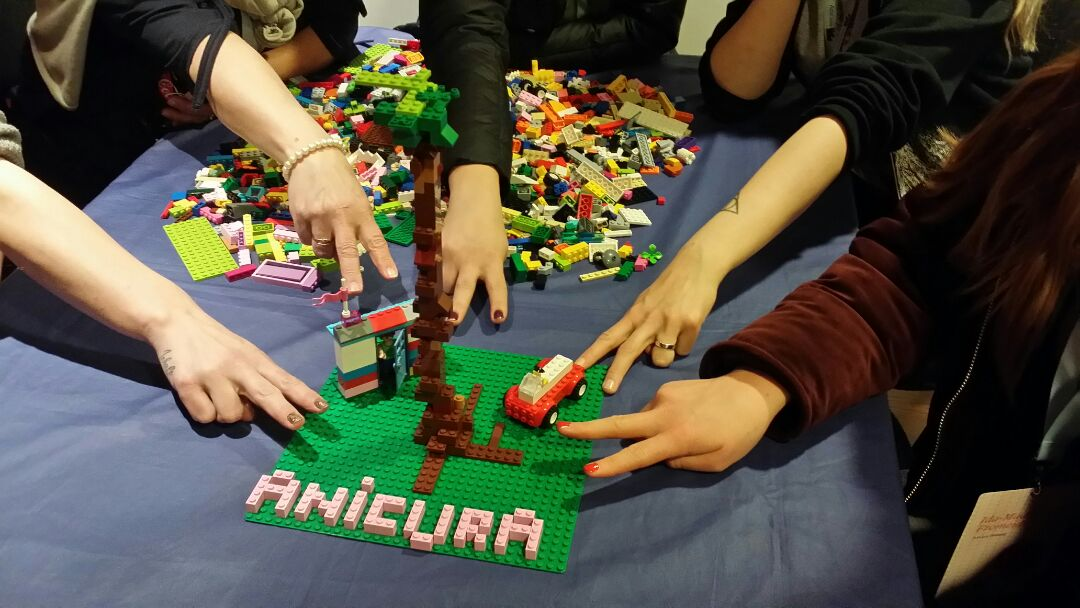 Legobygging i Billund liksom