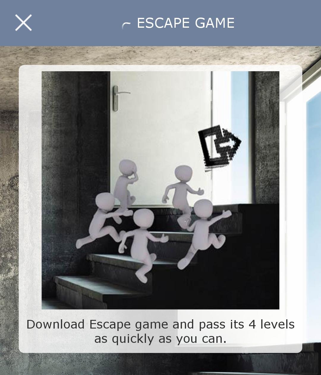 Screenshot_ start EscapeGame klippet